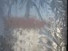 Ice flowers on the studio windows