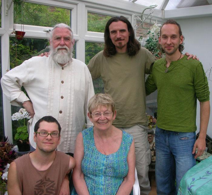 Clockwise from bottom right: Brigid Marlin, Delvin Solkinson, Michel de Saint Ouen, Leo Plaw (me) and Daniel Mirante.