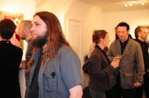 Chet Zar at Strychnin Gallery, London.