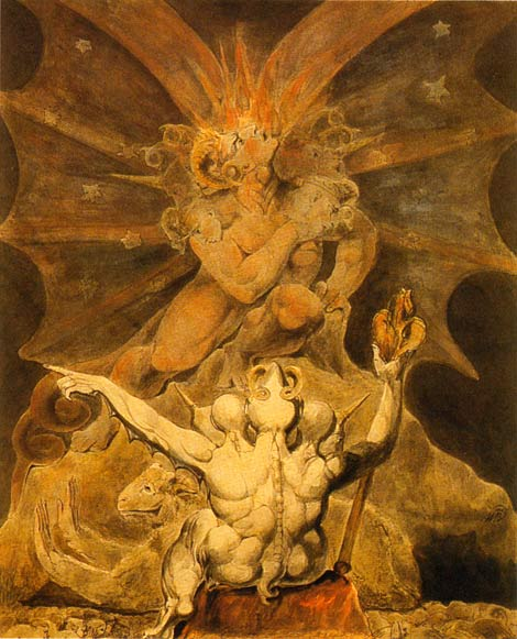William Blake - Beast