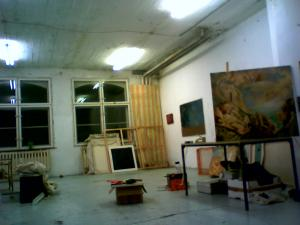 Studio in Atelierhaus Mengerzeile