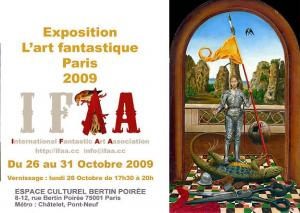 IFAA - Exposition L'art fantastique Paris 2009