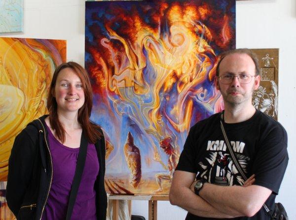 Tim Roosen and Isabelle Hackars