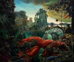 """Temptation of St. Anthony"" Max Ernst"