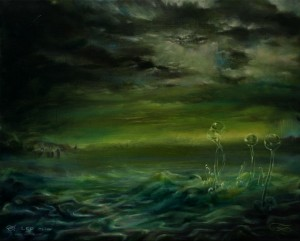 """""""In Another Light"""", 50 x 40 cm, oil on canvas"""