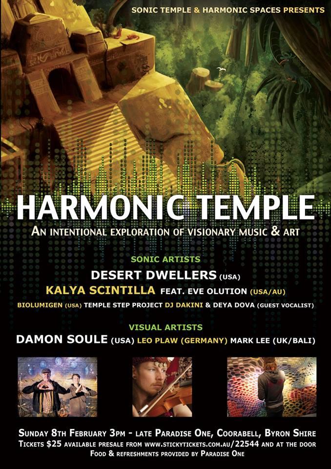 Harmonic Temple - Paradise One - Art and Music