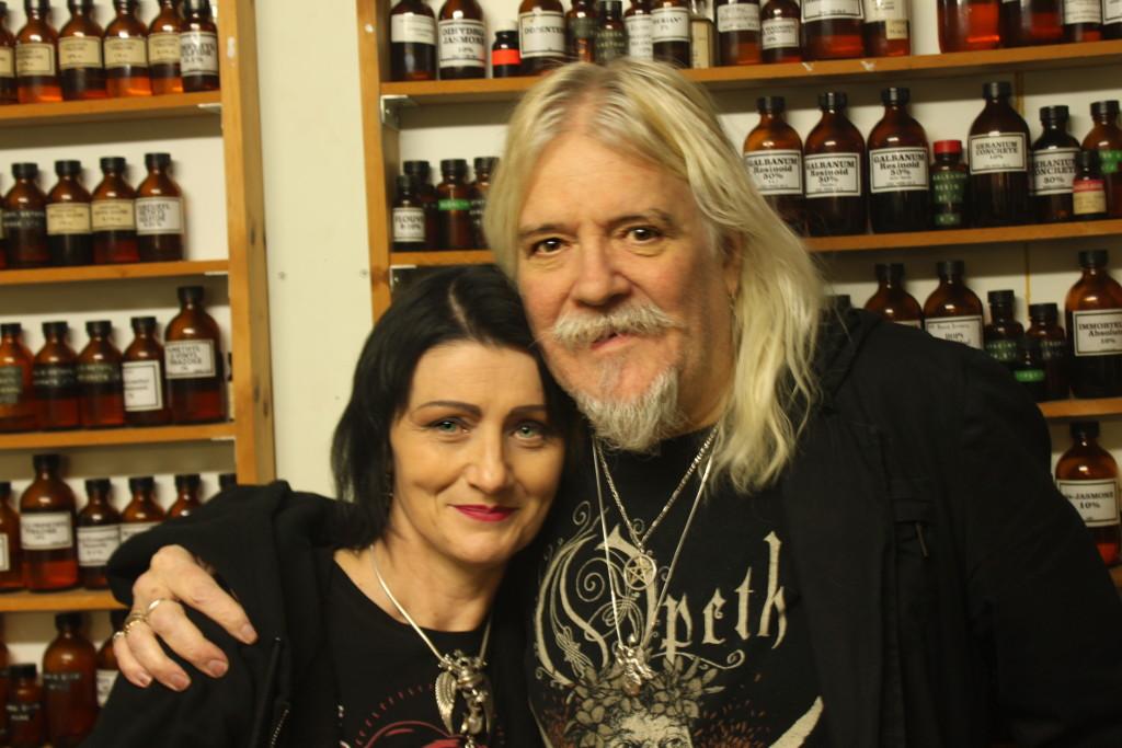 Gabrielle Ivers and Jonathon Midgely of Damask Perfumery