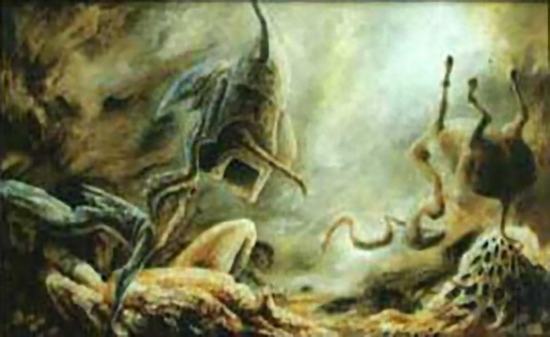 """""""Subliminal Shadows"""", 100 x 75 cm ?, oil on canvas"""