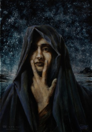 Silence (Homage to Lucien Lévy-Dhurmer)