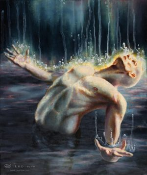 """Surrender Unto"", 25 x 30cm, oil on canvas"