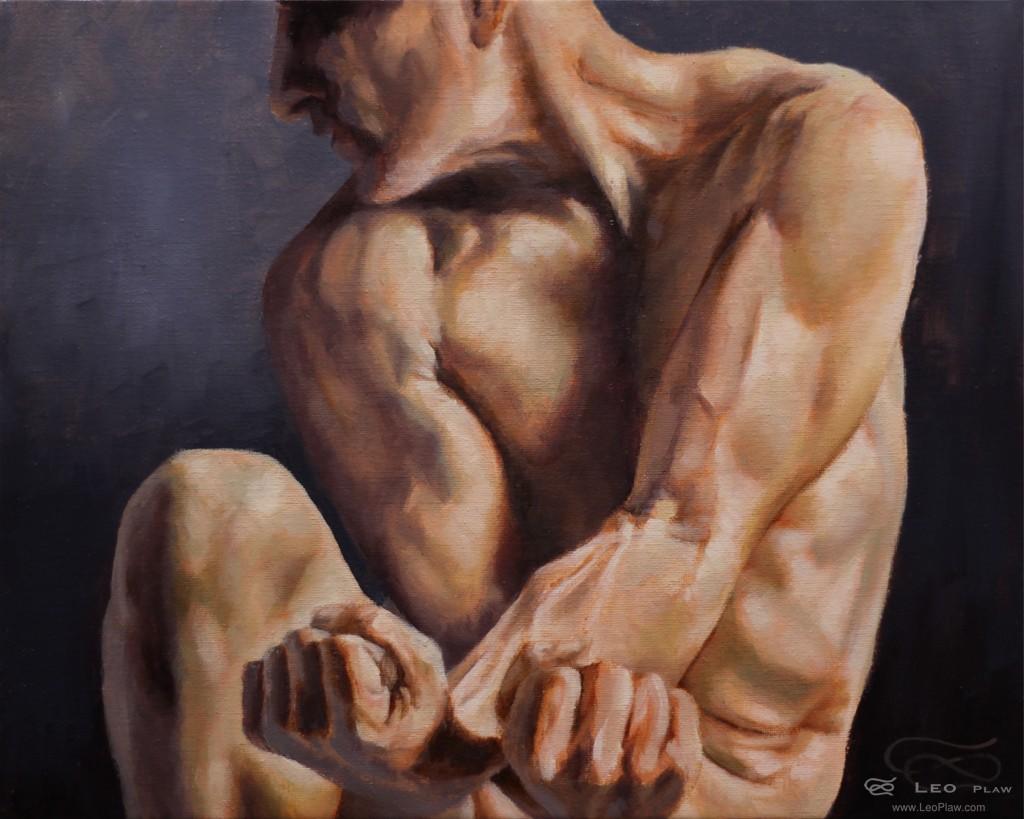 """Surrender"", 30x24cm, oil on canvas"