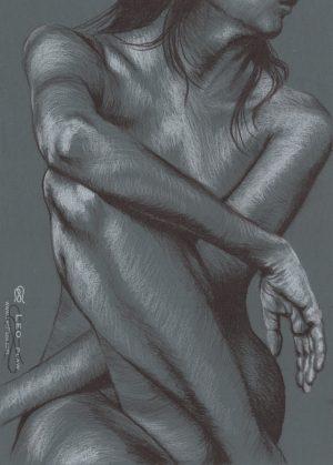"""Figure 11"", Leo Plaw, 24 x 34cm"