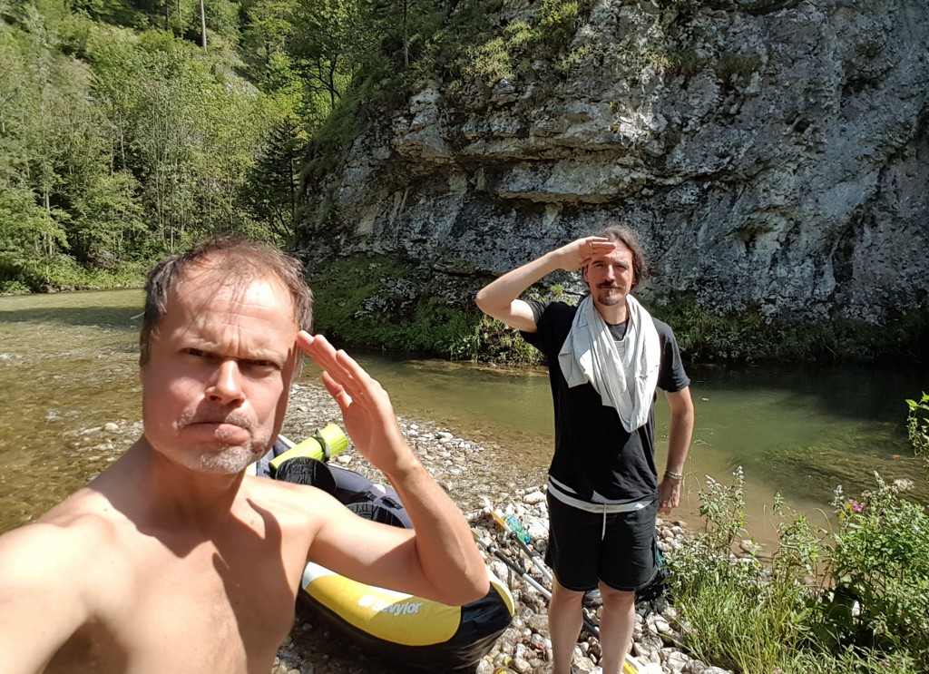 White Water Wandering with Schwarza Sailors
