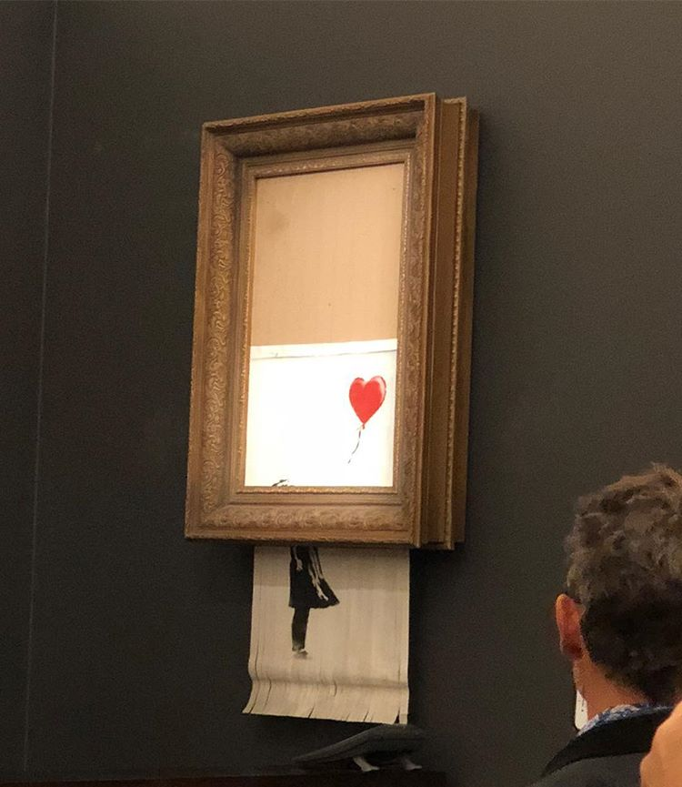 Banksy Shred