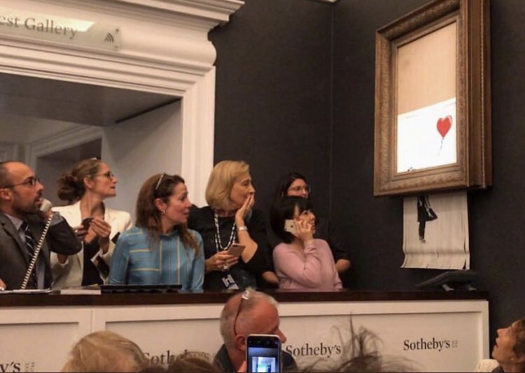 Banksy Shred Shock
