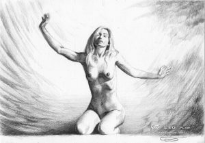 """Figure 38 - Drawing"", Leo Plaw, 30 x 21cm, graphite pencile on paper 300gsm"