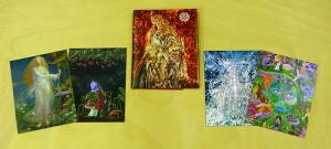 Galactic Trading Cards : Visionary Art Microgallery