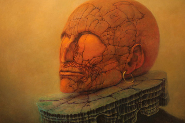 Zdzislaw Beksinski - Polish painter