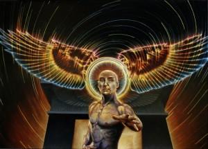"""Gateway"", Leo Plaw, 70 x 50 cm, oil on canvas, 2013"