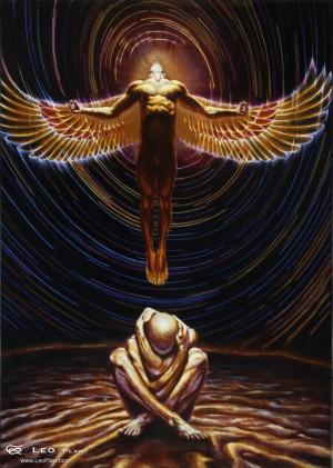 'Arise', Leo Plaw, 50 x 70cm, oil on canvas