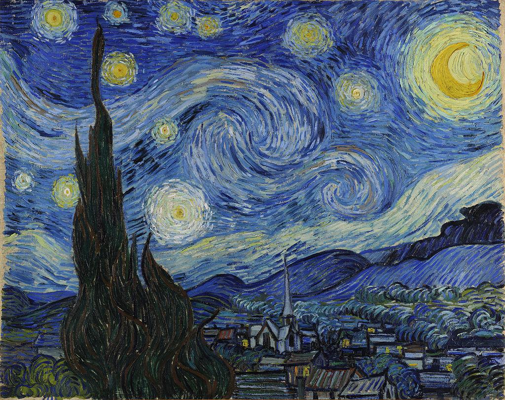 """Starry Night"", Vincent Van Gogh"