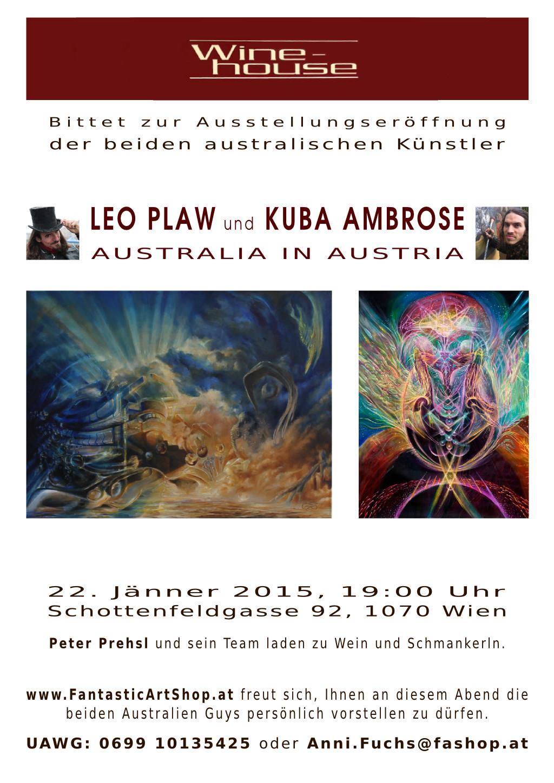 Exhibition - Leo Plaw and Kuba Ambrose
