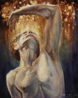 """Wonder"", Leo Plaw, 24 x 30cm, oil on canvas"