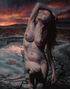 24 x 30cm, oil on canvas