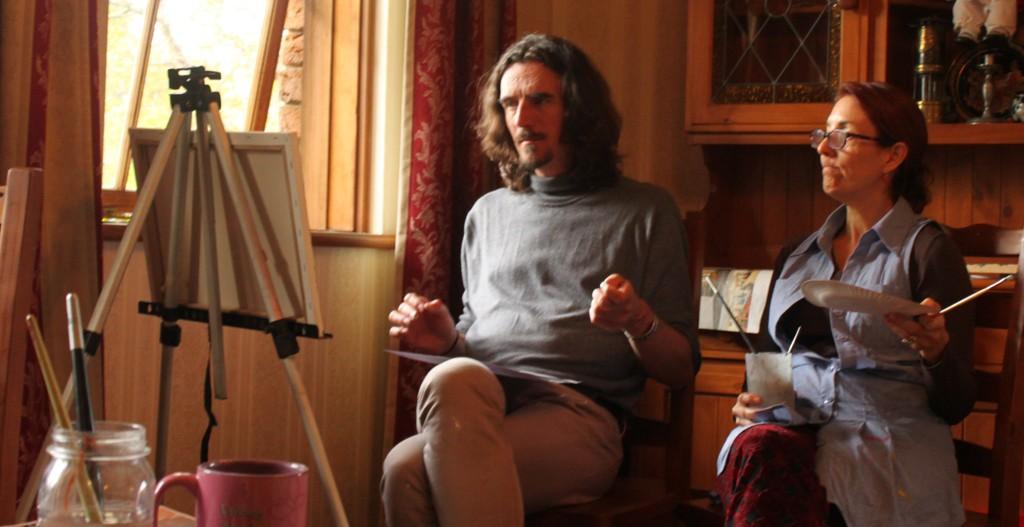 Painting Workshop Teaching