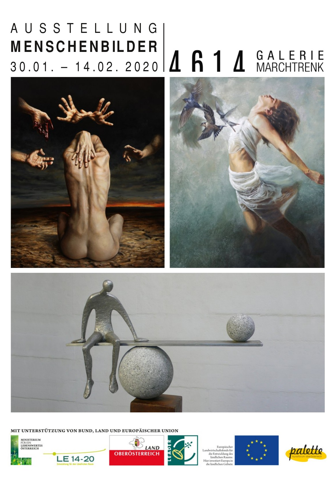 Menschenbilder - Exhibition - Galerie 4616